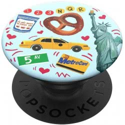Popsockets Swappable New York Compatible With All Smartphones 801000 842978139708
