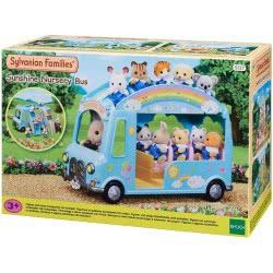 Epoch Sylvanian Families: Sunshine Nursery Bus - Χαρούμενο Σχολικό Λεωφορείο 5317 5054131053171