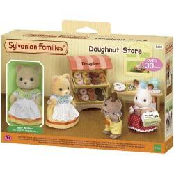 Epoch Sylvanian Families: Doughnut Store Set With Mama Bear 5239 5054131052396