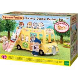 Epoch Sylvanian Families: Nursery Double Decker Bus 5275 5054131052754