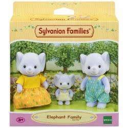 Epoch Sylvanian Families: Elephant Family Οικογένεια Ελεφάντων 5376 5054131053768