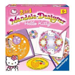 Ravensburger Παιχνίδι Κατασκευή 2 Σε 1 Mandala Hello Kitty 05-29992 4005556299928