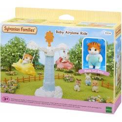 Epoch Sylvanian Families - Baby Airplane Ride Αεροπλανάκι Του Λούνα - Παρκ 5334 5054131053348