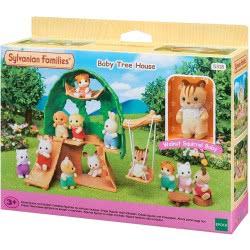Epoch Sylvanian Families: Baby Treehouse Παιδικό Δεντρόσπιτο 5318 5054131053188