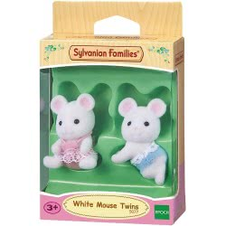 Epoch Sylvanian Families: White Mouse Twins 5077 5054131050774