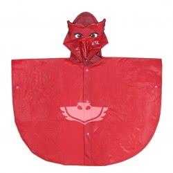 Cerda Pjmasks - Πιτζαμοήρωες Αδιάβροχο Πόντσο Ολέτ 5-6 Ετών - Κόκκινο 2400000486 8427934232338