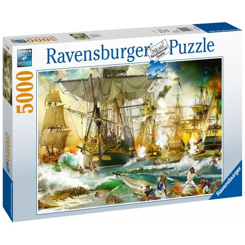 Ravensburger Battle on the High Seas 5000pc Jigsaw Puzzle  13969 4005556139699