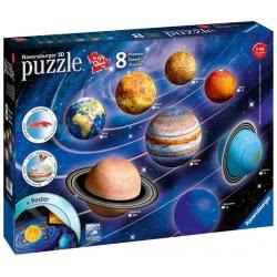 Ravensburger 3D Puzzle 522 Τεμ. Solar System 11668 4005556116683