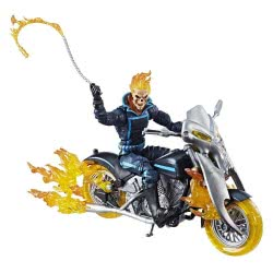 Hasbro Marvel Legends Series Ghost Rider Με Φλεγόμενη Μοτοσυκλέτα E0805 / E1373 5010993519255