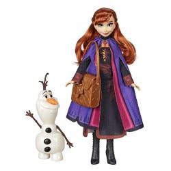 Hasbro Disney Frozen II Storytelling Άννα Κούκλα Μόδας και Όλαφ E5496 / E6661 5010993605446