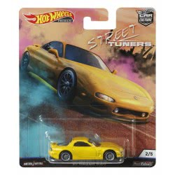 Mattel Hot Weels Street Tuners - 95 Mazda RX-7 Collectible Die-Cast FPY86 / FYN75 887961707359