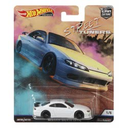 Mattel Hot Weels Street Tuners - Nissan Silvia S15 White Collectible Die-Cast FPY86 / FYN79 887961707472