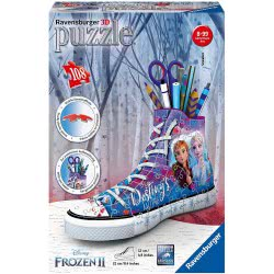Ravensburger 3D Puzzle Disney Frozen II Sneakers 108 Pieces 12121 4005556121212
