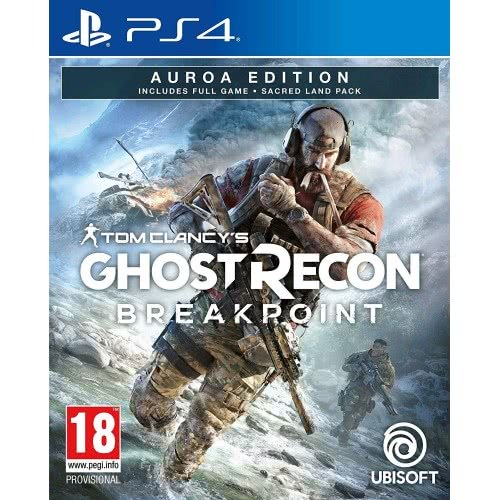 UBISOFT PS4 Tom Clancy's Ghost Recon Breakpoint Auroa Edition PS4X-0561 3307216138150