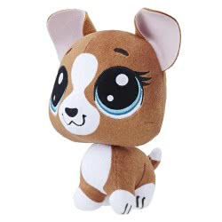Hasbro Littlest Pet Shop Bobblehead Roxie Mcterrier Λούτρινο 15 Cm E0139 / E0350 5010993454754