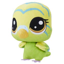 Hasbro Littlest Pet Shop Plush Bobblehead Edie Von Keet Λούτρινο 15 Cm E0139 / E0351 5010993454785