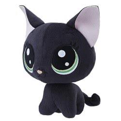 Hasbro Littlest Pet Shop Bobblehead Jade Catkin Λούτρινο 15 Cm E0139 / E0352 5010993454778