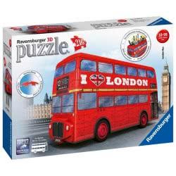 Ravensburger 3D Puzzle 216 Τεμ. London Bus - Λεωφορείο Λονδίνου 12534 4005556125340
