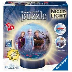 Ravensburger 3D Puzzle Puzzle Ball 72 Pieces Disney Frozen II 11141 4005556111411