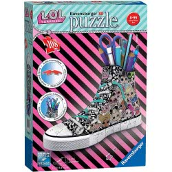 Ravensburger 3D Puzzle 108 Pieces Sneaker L.O.L. Surprise 11163 4005556111633