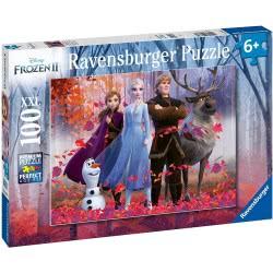 Ravensburger Disney Frozen II Παζλ 100XXL Τεμ. Ψυχρά Και Ανάποδα 2 12867 4005556128679