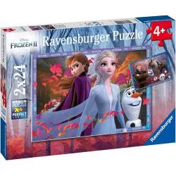Ravensburger Disney Frozen II Παζλ 2X24 Τεμ. Ψυχρά Και Ανάποδα 2 05010 4005556050109