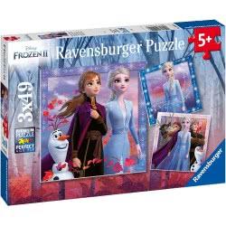 Ravensburger Disney Frozen II Παζλ 3X49 Τεμ. Ψυχρά Και Ανάποδα 2 05011 4005556050116