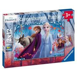 Ravensburger Disney Frozen II Παζλ 2X12 Τεμ. Ψυχρά Και Ανάποδα 2 05009 4005556050093