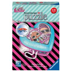 Ravensburger 3D Puzzle 54 Τεμ. Μπιζουτιέρα L.O.L. Surprise 11164 4005556111640