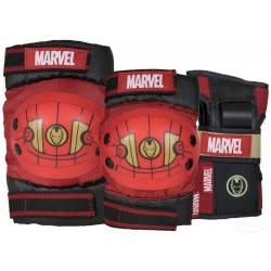 POWERSLIDE Marvel Iron Man Σειρά Προστατευτικά - Medium 17.910725/M 4040333489802