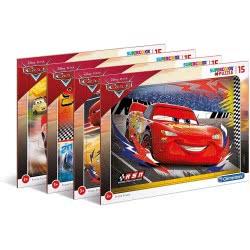 Clementoni Puzzle Frame 15Pc Super Color Disney Cars 1200-22232 8005125222322