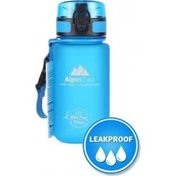 AlpinTec Water Canteen 350Ml Bpa Free Fast Open Blue P-350BE 4891321703512