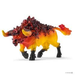 Schleich Eldrador Fire Bull SC42493 4055744029943