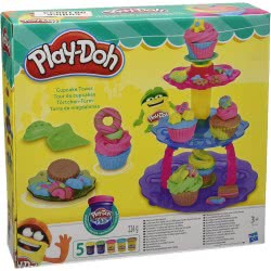 Hasbro Play-Doh Πύργος Με Κεκάκια Cupcake Tower A5144 5010994914813