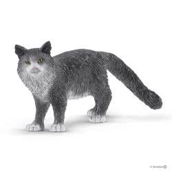 Schleich Farm World Maine Coon Cat SC13893 4055744029592