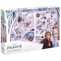 Totum Disney Frozen II Σετ Ζωγραφικής Και Κατασκευή Βραχιολάκια 2 Σε 1 TM681194 8714274681194