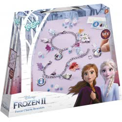 Totum Disney Frozen II Κατασκευή Βραχιολάκια Ψυχρά Και Ανάποδα TM680654 8714274680654