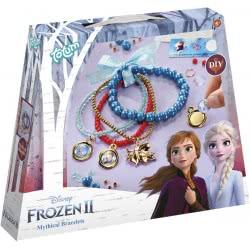Totum Disney Frozen II Kατασκευή Βραχιολάκια Με Χάντρες TM680746 8714274680746