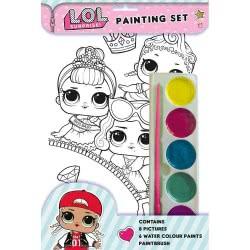 Totum L.O.L. Surprise Painting Set TM074057 9781788240734
