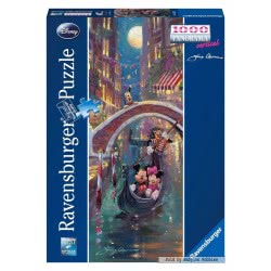 Ravensburger Παζλ 1000τεμ. Disney: Στην Βενετία 15055 4005556150557