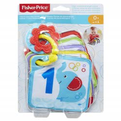 Fisher-Price Soft Turn And Learn Cards GFX90 887961687149