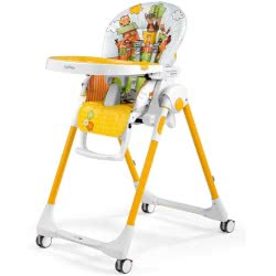 Peg-Perego bebe Highchair Prima Pappa Follow Me Fox And Friends And Toy Bar Gift 4132FOX38 8005475390955