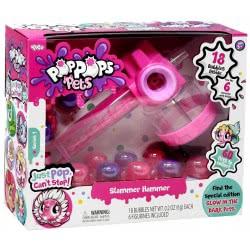 YULU Poppops Pets Slammer Hammer Και 18 Pop Pops - Pink 40043 8719324072656