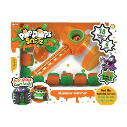 YULU Poppops Snotz Slammer Hammer And 18 Pop Pops - Green 50043 8719324072670