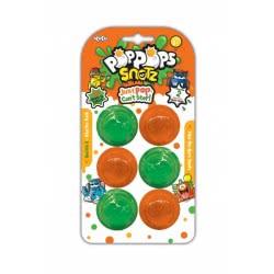 YULU Poppops Pets 6 Τεμάχια - Πράσινο 50041 8719324071123