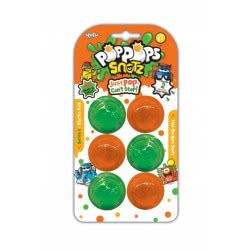 YULU Poppops Snotz 6 Τεμάχια - Πράσινο 50041 8719324071123