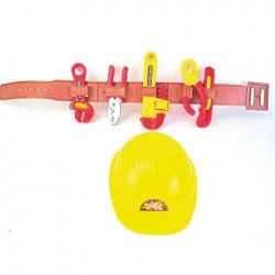 Toys-shop D.I Εργαλεία σε ζώνη Μάστορα Tool set JU033280 6990416332809