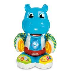 Clementoni baby Βρεφικό Παιχνίδι Ιπποποταμούλης Χορευτούλης (Μιλάει Ελληνικά) 1000-63709 8005125637096