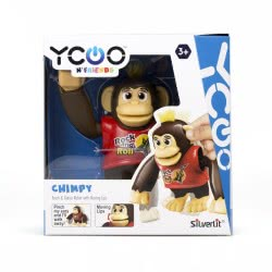 Silverlit Electric Robot Ycoo And Friends Chimpy - 4 Colours 7530-88564 4891813885641
