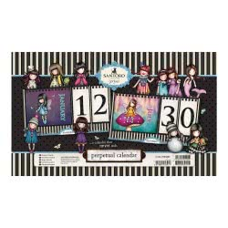Santoro London Gorjuss Perpetual Calendar Bubble Fairy 760GJ03 5018997504949